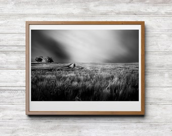 A Day in May, Print Download, Landscape Photography, Black and White Photography, Fine Art Photography, Home Office Hotel Decor