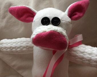 Poodle Sock Pig