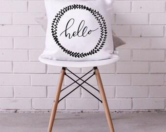 Cushion Cover • Hello