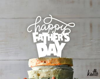 Personalized Cake Topper Father's day- Father's day Topper - father's day Cake Topper- Customizable father's day Cake Topper- father's day