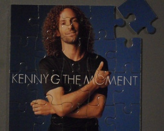 Kenny G CD Cover Magnetic Puzzle
