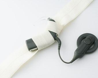 how to make a hearing aid headband