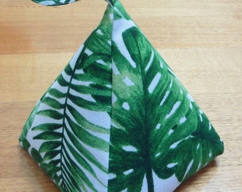 Filled Fabric Door Stop - Rainforest