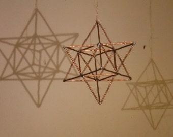 Copper Star Tetrahedron/ Tantric Star