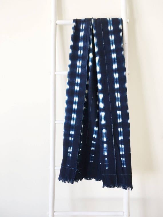 Plaid Stripe Pattern Throw