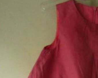 Poofy pink sleeveless dress - size 18 months