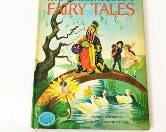 Hans Christian Andersen's Fairy Tales book.  Eve Morel. Vintage Children's book circa 1971.  Grosset & Dunlap.  Golden Book
