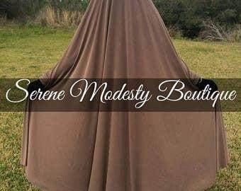 Islamic Free Size Overhead Khimar Prayer Dress