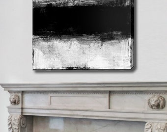 Abstract Paintings, Large Abstract Canvas, Acrylic Painting,  White Black picture, Original Wall art, Painting acrylic, Extra Large Painting