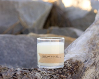 Isle of Palms Candle | Beach Linen Scented Soy Candle | 9 oz Soy Candle | Charleston SC Inspired Candles