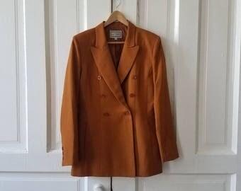 Vintage SUITSME Copper Women's Blazer