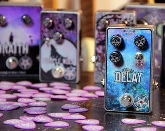 Occvlt Pedals Delay - vintage tape echo style guitar pedal handmade