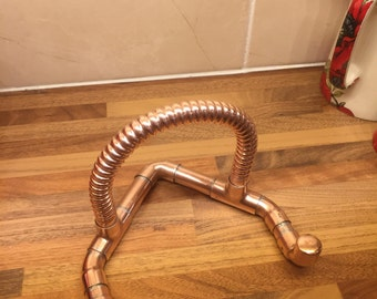 Copper Pipe iPad Stand