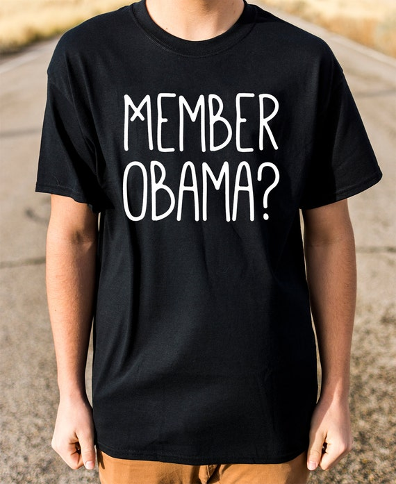 Member Obama 100% Soft Cotton Shirt