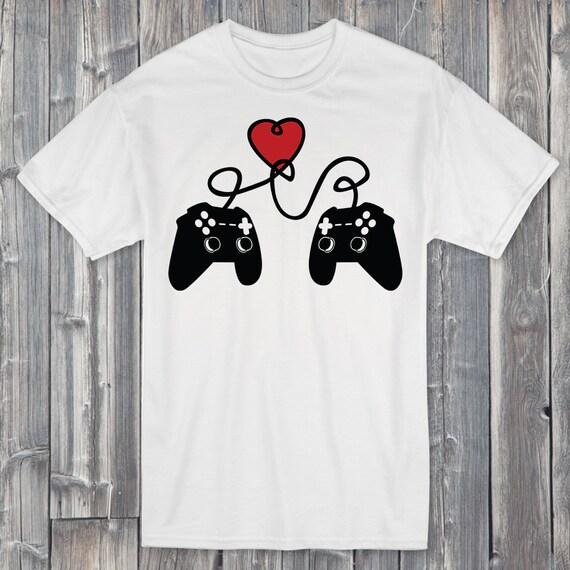 Gamer Valentine's 100% Soft Cotton Gaming Shirt