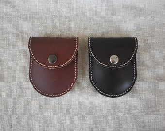 Beef classic leather purse