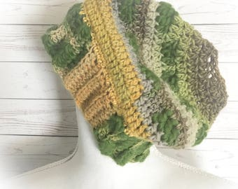 Messy Bun hat,bun hat,Ponytail hats,Camouflage beanie,Greenery hat,Green hats,camouflage hats,,Gifts for her,Gifts for Teens,ski wear,hats