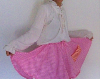 Raspberry Jam Skirt
