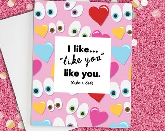 Love Card, Anniversary Card for him, Thinking Of You, Funny love card, Card for boyfriend, card for him, card for girlfriend