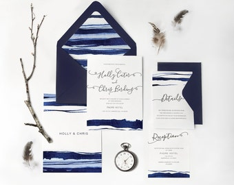 06.Sample-Destination Wedding,watercolor waves,mediterranean invite,Tropical Invitation,Ocean Wedding,Beach Invitation,Modern Invitation
