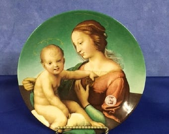 The Niccolini Couper Madonna 1983 Annual Christmas Stamp Art Plate