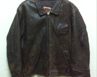 Sale 25% Vintage MOTOR HARLEY DAVIDSON Leather Jacket