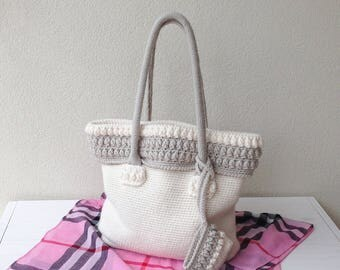 Crochet pattern Bag Iris