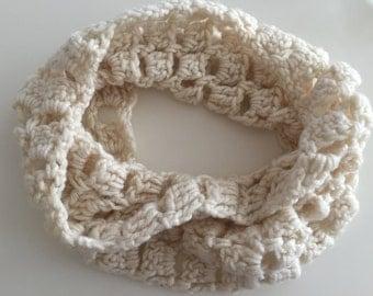 Knit Infinity Scarf - Crochet Scarf