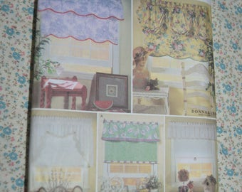 Simplicity 7442  Valances with Mtching Shades Sewing Pattern - UNCUT