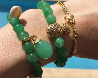 Jade bracelets Green