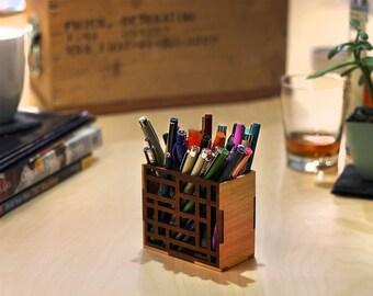 Mondrian Pen Cup
