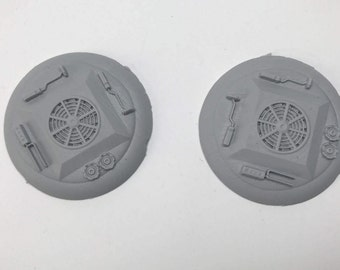 50MM SciFi Base 1 (pack of 2)