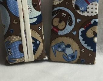 Tissue Holder - Dogs Beige (#003)