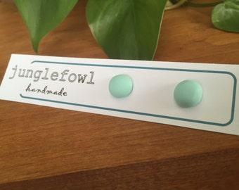 Pastel Turquoise Studs