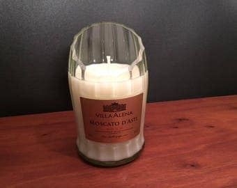 Villa Alena Moscato Candle Wine Soy Candle. Made To Order !!!!!!!