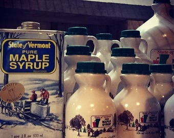 1 Pint of Pure VT Maple Syrup - 2017 Season