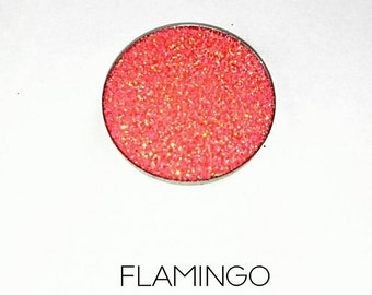 Pressed Glitter Eyeshadow - 'Flamingo'