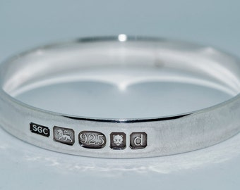 Vintage Sterling Silver Hallmarked Bangle