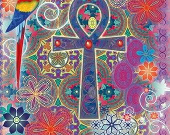 Magical card: Ankh Healing Energie