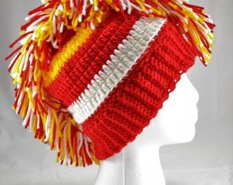 Awesome Manchester United Mohawk Sports Beanie