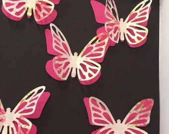 Butterfly embellishments