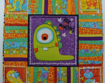 Monster Baby Quilt