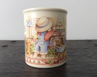Vintage Watkins Country Kids Moms are Special Mug / Tea Cup