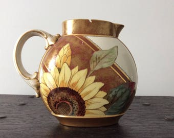 Sunflower Pitcher Etsy