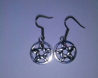 1PC 5-Point Star Earrings