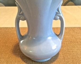 Vintage Blue vase- McCoy style