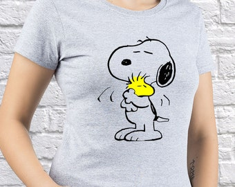shirt best gift woodstock tee peanuts characters snoopy tee. Black Bedroom Furniture Sets. Home Design Ideas