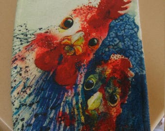 Chicken Hand Towel