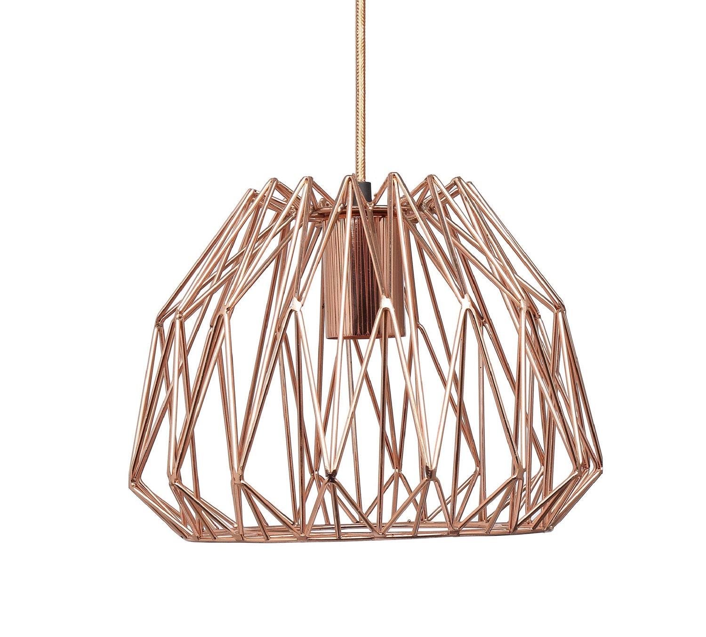Rose Gold Copper: Rose Gold Copper Pendant Light
