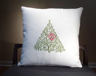 Christmas Pillow, Holiday Pillow, Christmas Decor, Holiday Decorations, Holiday Decor, Christmas Stitch, Christmas 2017, Christmas Holiday